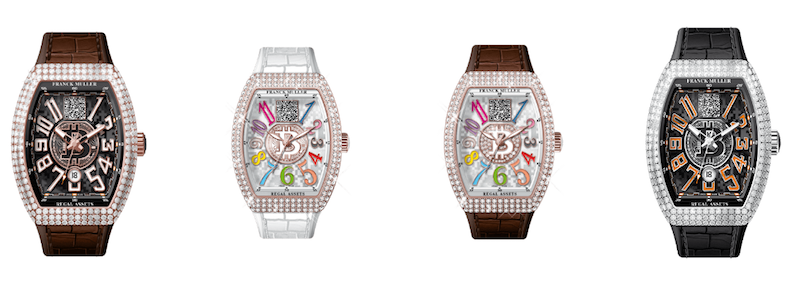 Franck Muller Bitcoin Watches