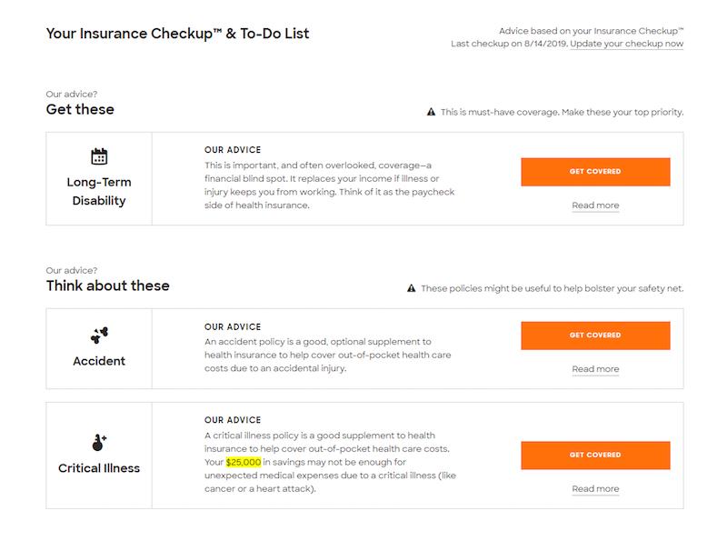 Insurance Checkup