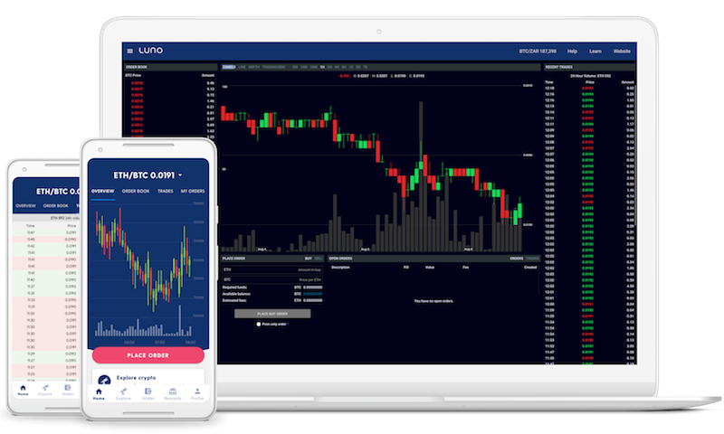 Luno Exchange Dashboard