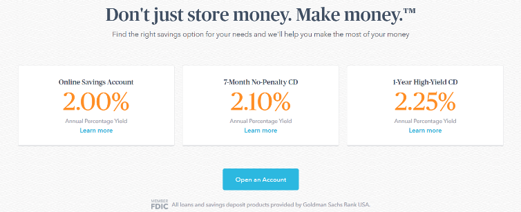 Marcus High-yield Savings