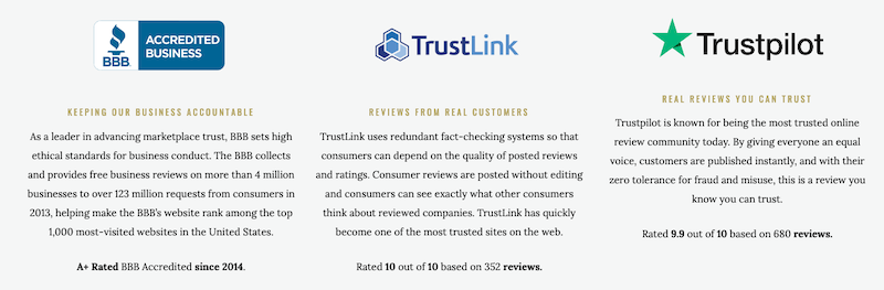 Customer Reviews of Advantage Gold