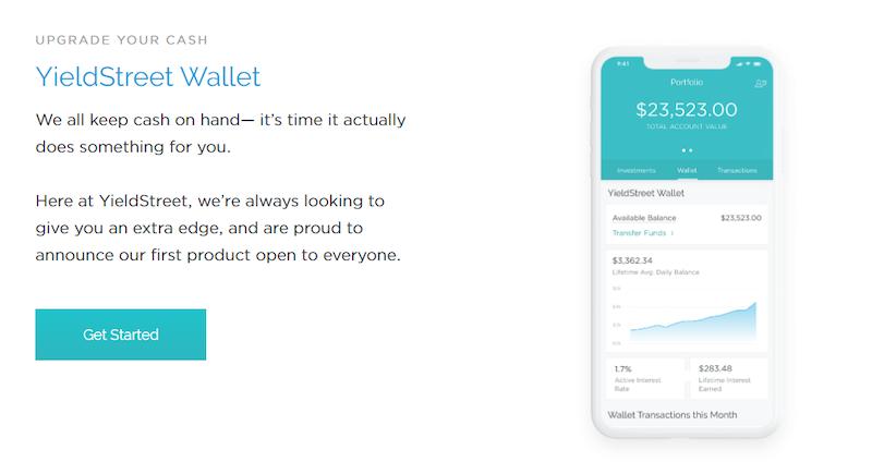 YieldStreet Wallet