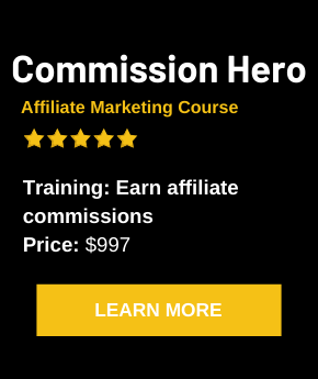 Commission Hero Affiliate Marketing Price Range