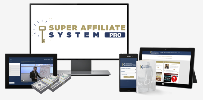 super affiliate system course on computer