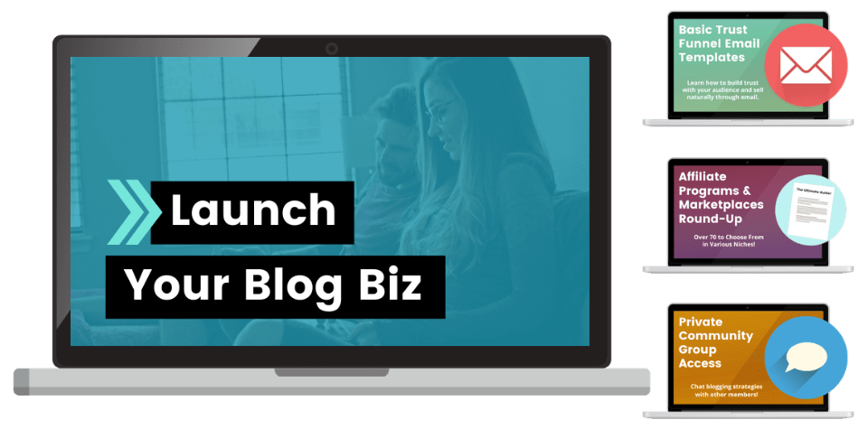 Launch Your Blog Biz Course Overview