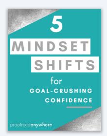 5 mindset shifts