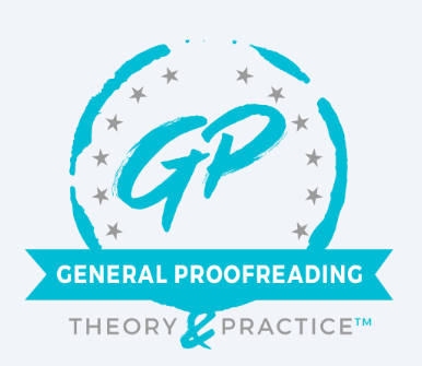 general proofreading course logo