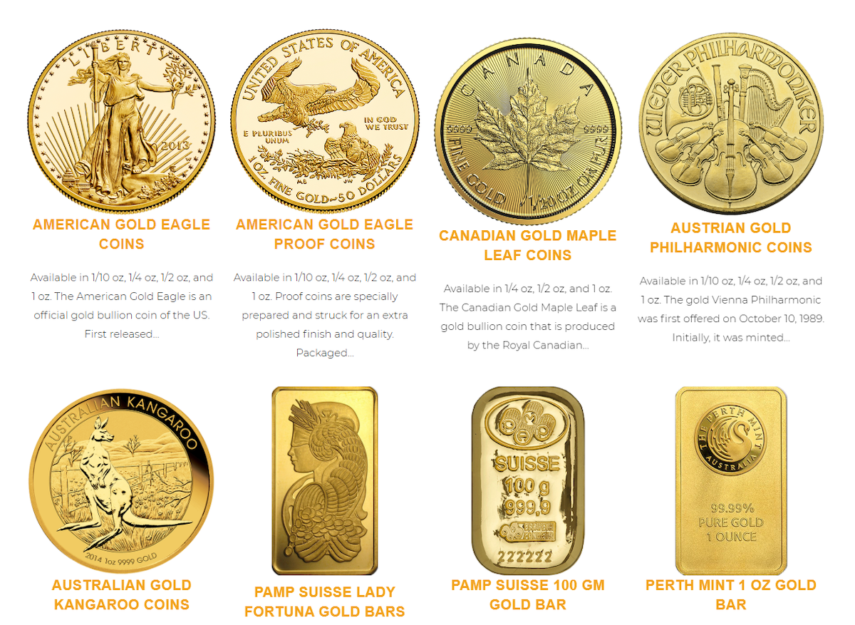 Noble Gold Coins