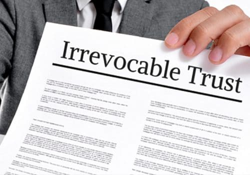 Irrevocable Trust Definition